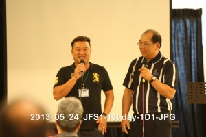 Photos from 1st JB Father School (24 May ~25 May 2013)
